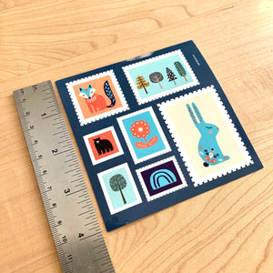 Scandinavian Faux Stamps