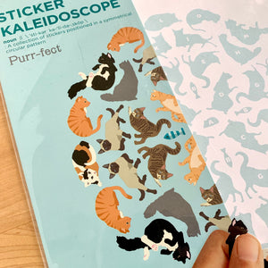 Purr-Fect Sticker Kaleidoscope