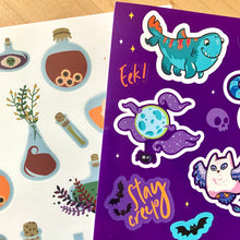 Load image into Gallery viewer, Halloween Sticker Pack