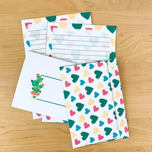 Cactus Love Stationery