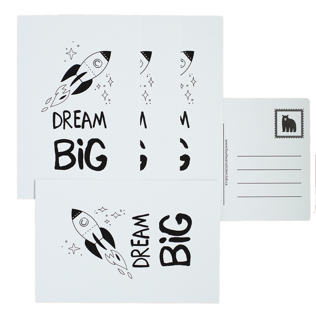 Dream Big Postcards