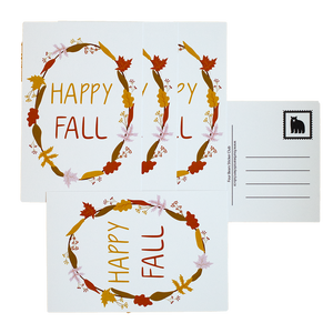 Happy Fall Postcards