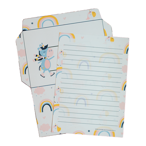 Winter Unicorn Stationery