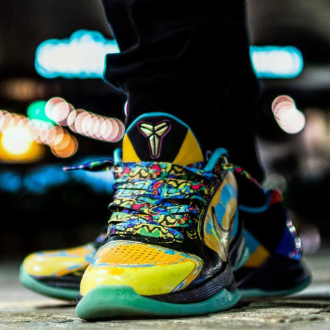 Graffiti Shoelaces - HoopSwagg  - 2