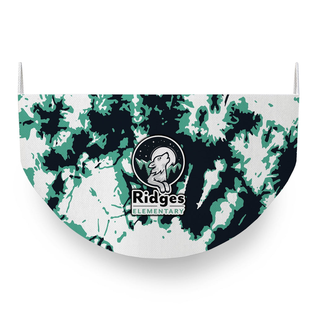 Ridges Elementary Tie Dye Face Covering