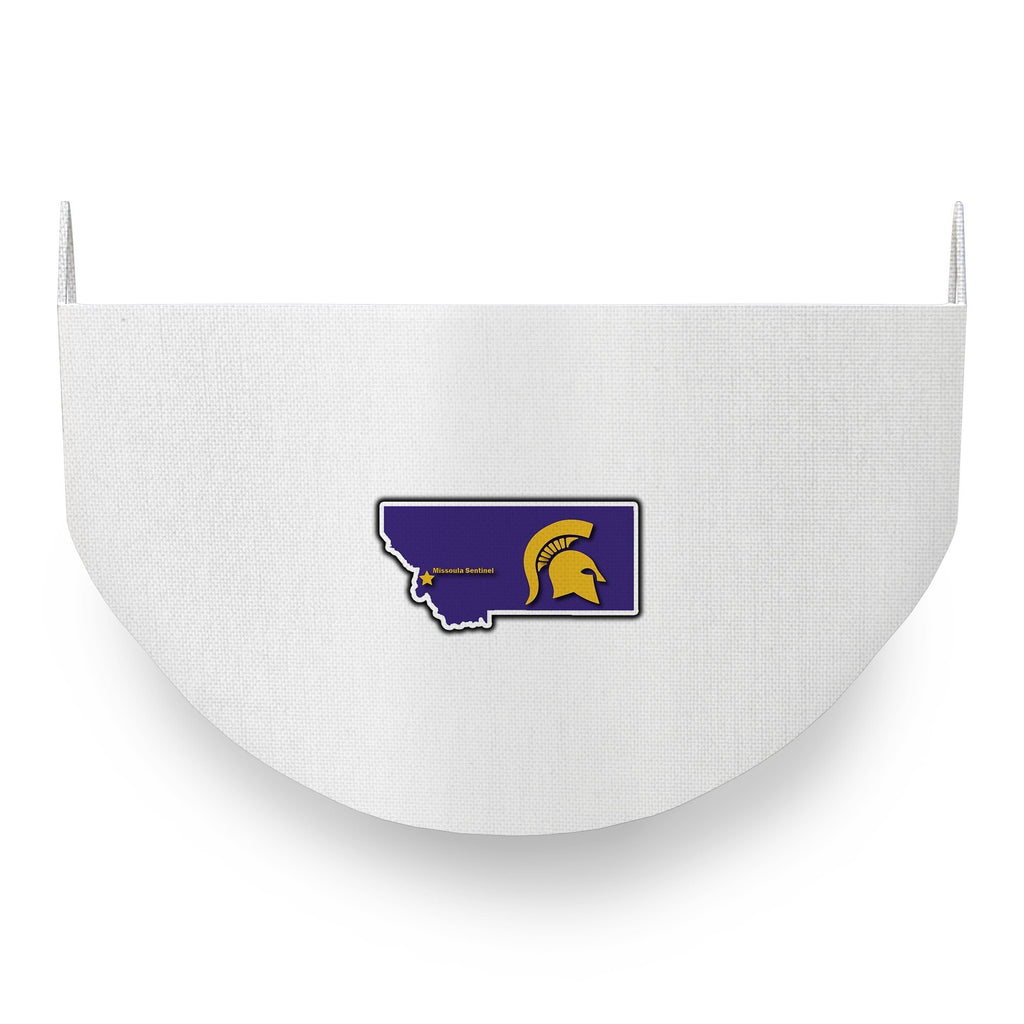 Sentinel Spartans Basketball Logo Face Covering