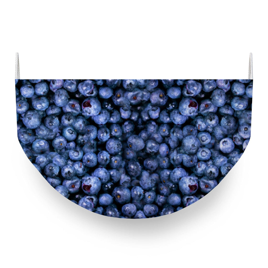 Blueberries Face Covering