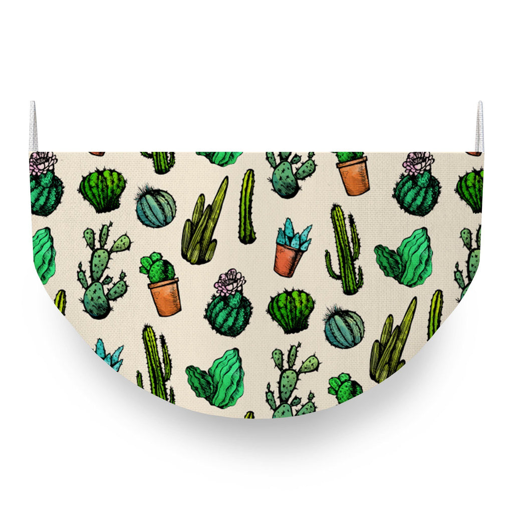 Cacti Face Covering