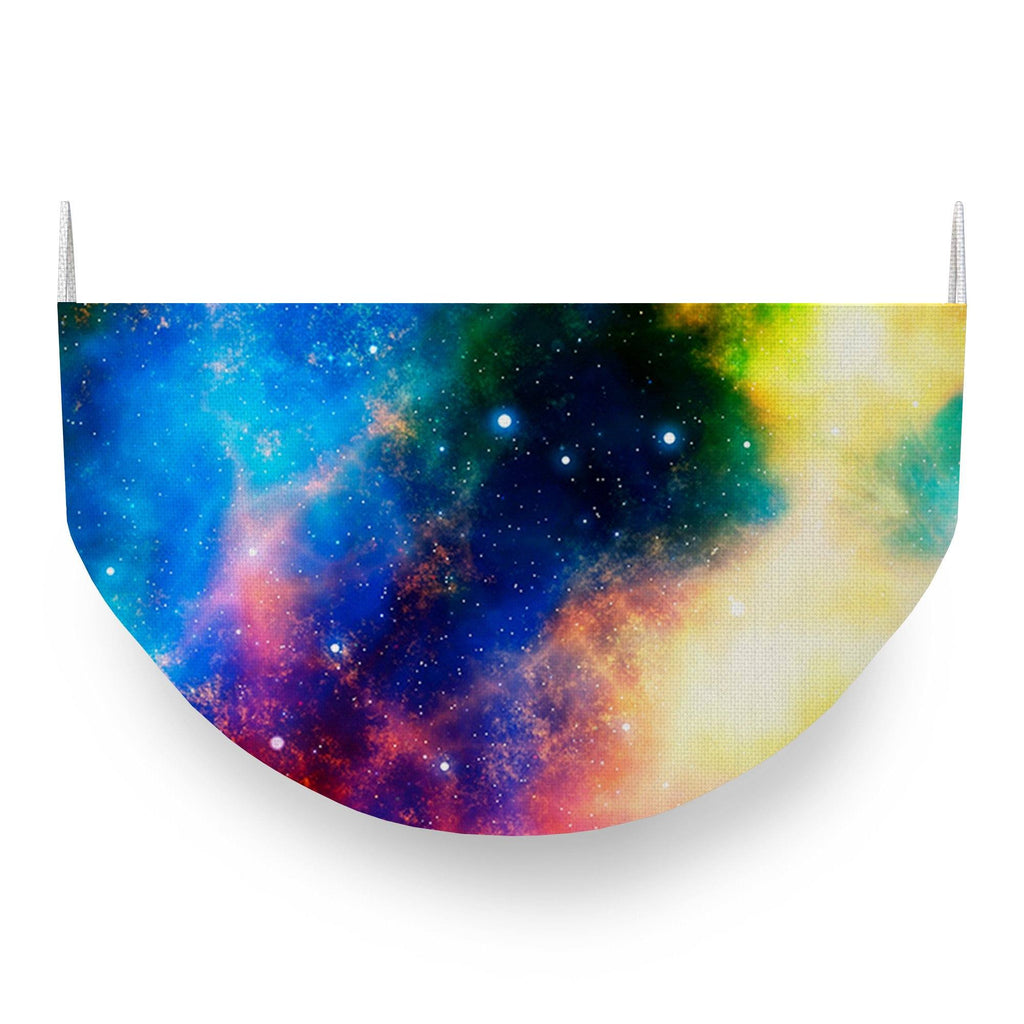 Cosmos Galaxy Face Covering
