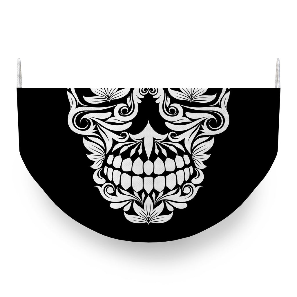 Ornamental Skull Face Covering