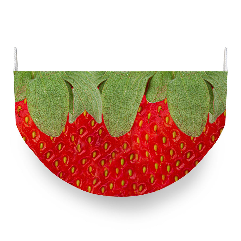 Strawberries Face Covering
