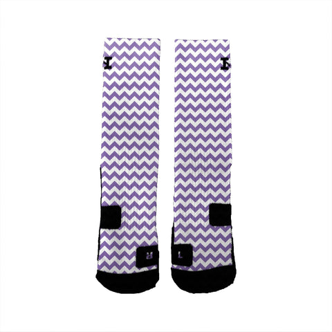 Chevron Purple - HoopSwagg  - 3