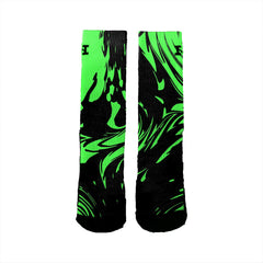 Midnight Green Swirl - HoopSwagg  - 3