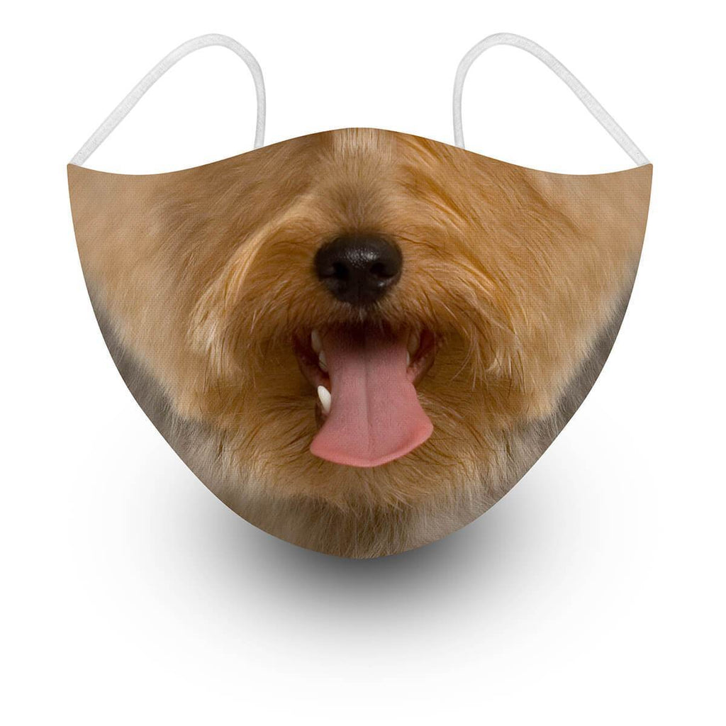 Yorkie Face Covering