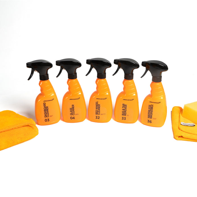 mclaren all round car cleaning kit
