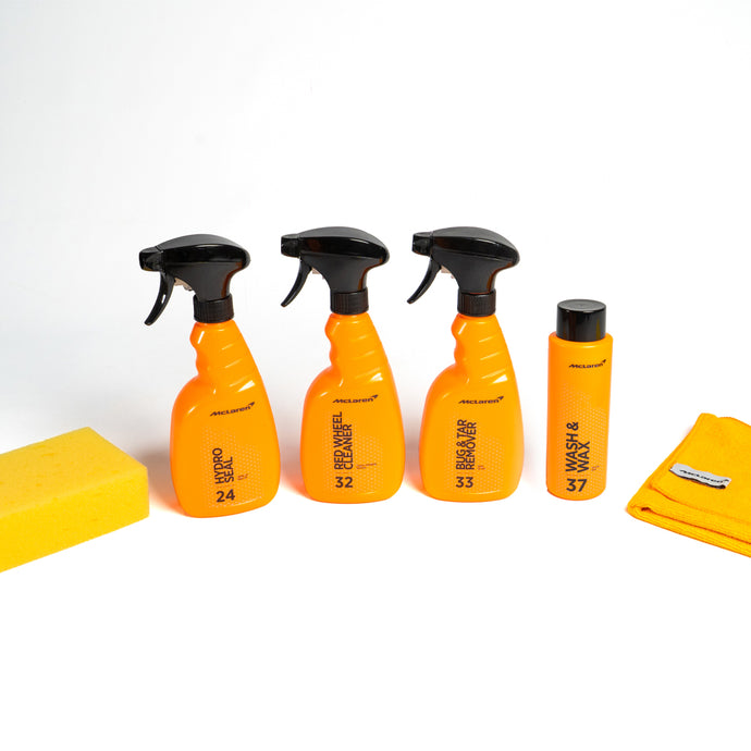 mclaren exterior car cleaning kit