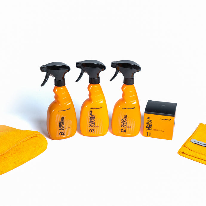 Interior Car Cleaning Kit