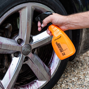 Red Wheel Cleaner