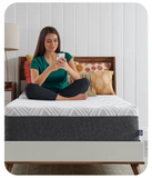 "Sealy 12"" Medium Memory Foam Mattress in Box (Twin)"