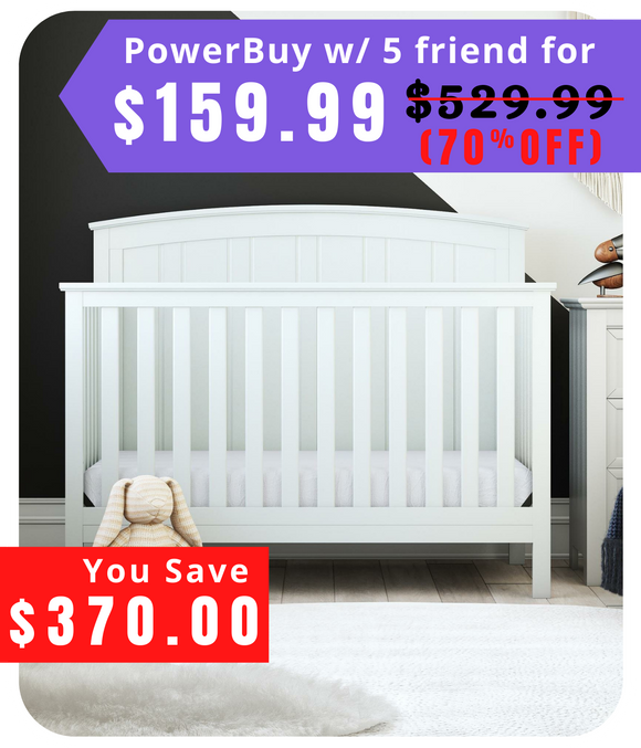 Columbiana 5-in-1 Convertible Crib