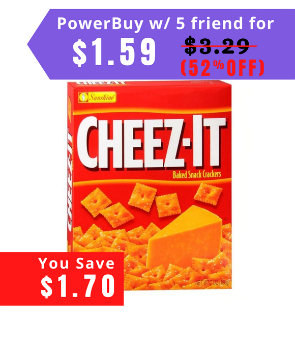 Cheez-It Baked Snack Crackers 7.0oz