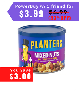 Planters Mixed Nuts 10.3 oz
