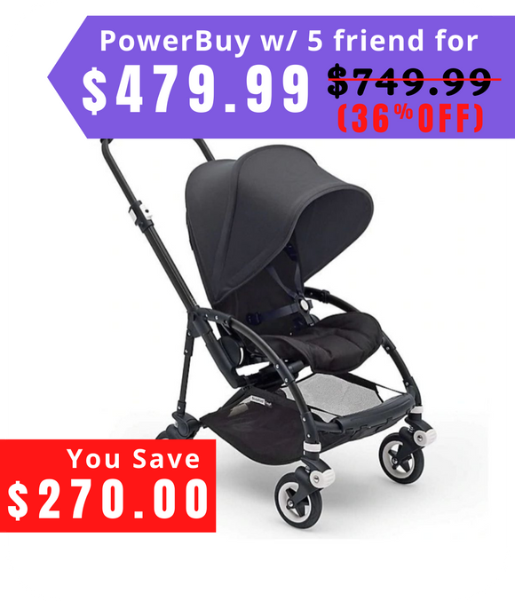 Complete Stroller in Black