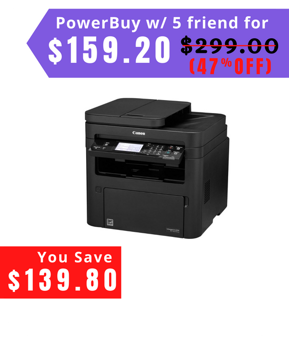 imageCLASS MF269dw Wireless Black-and-White All-In-One Laser Printer