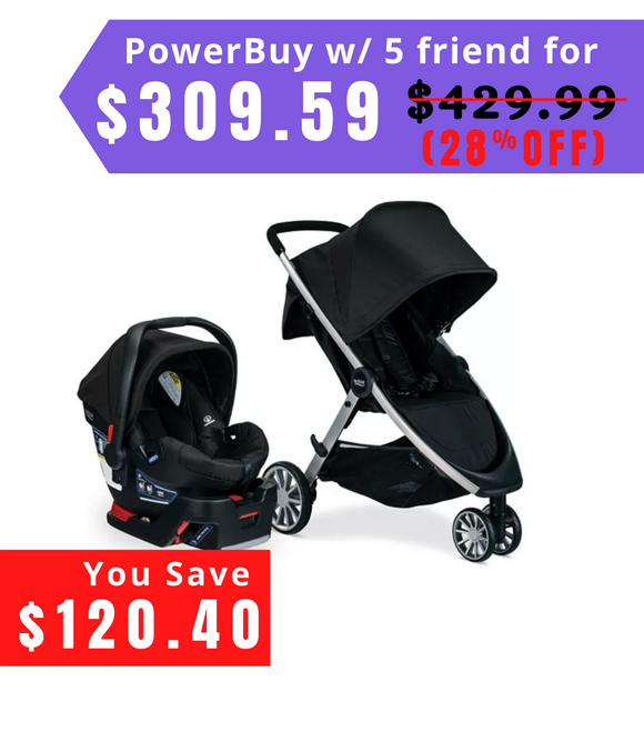 B-Lively And B-Safe 35 Travel System