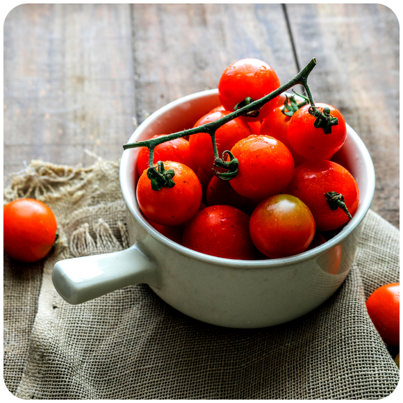 Organic Red Cherry Tomatoes, 2 baskets (1.2 lbs)