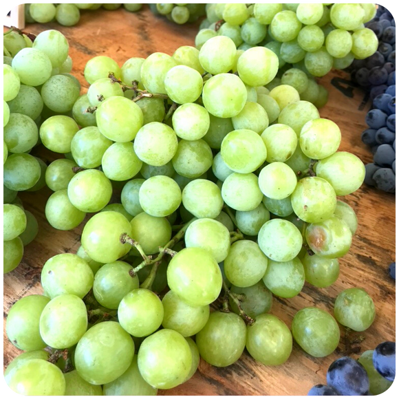 Organic Valley Pearl White Grapes, 2 lbs