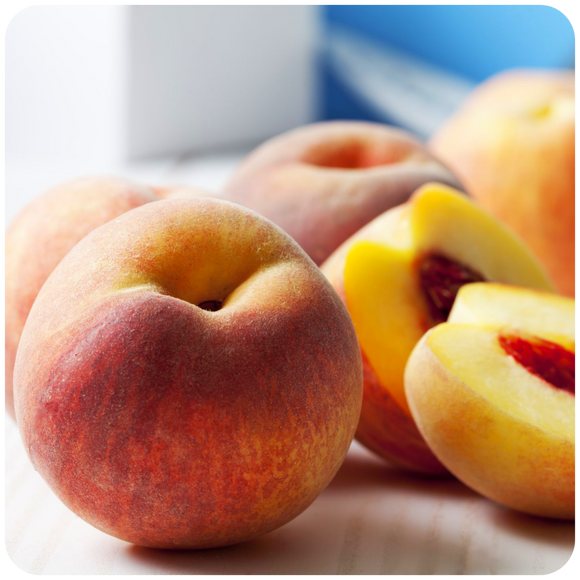 Organic Yellow Peaches, 2 lbs