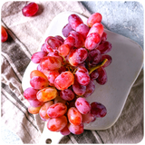 Organic Seedless Mini Red Flame Grapes, 2.5 lbs