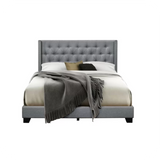 Aadvik Tufted Upholstered Standard Bed