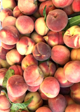AA031 Organic White Peaches, 2 lbs