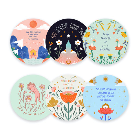 Everyday Inspiration - Sticker Set (6 pieces)