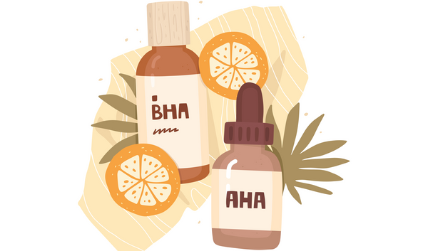AHA and BHA: Exfoliating acids for a healthy glowing skin