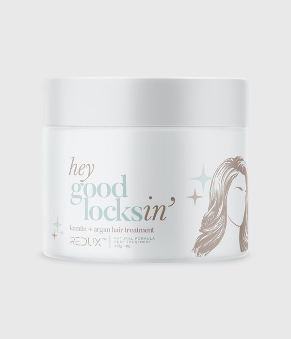 HEY GOOD LOCKSIN Keratin + Argan Hair Treatment