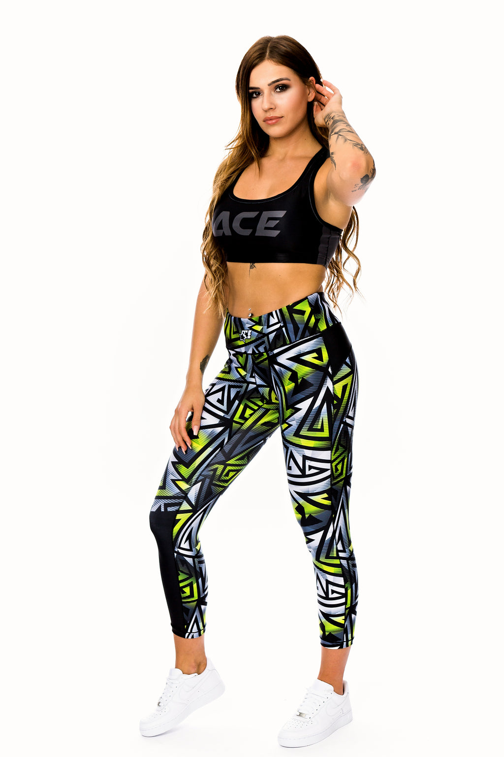 WOMENS LEGGINGS - FIREBLADE - ACEPERFORMANCE