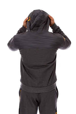 HYBRID SUIT - DARK GREY URBAN ORANGE - ACEPERFORMANCE
