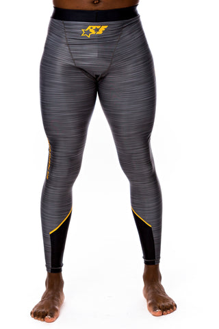COMPRESSION PANTS - ACE URBAN ORANGE