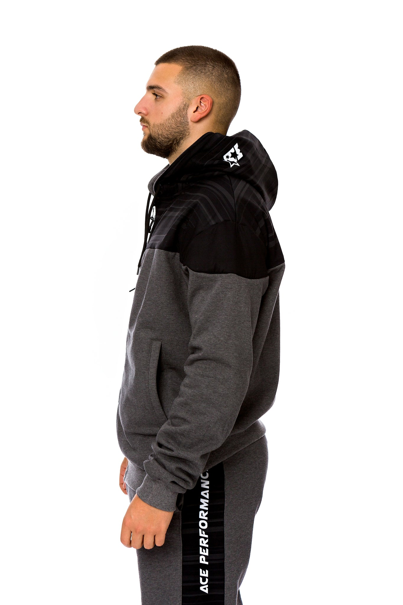 HYBRID SUIT - DARK GREY BLACK ACE - ACEPERFORMANCE