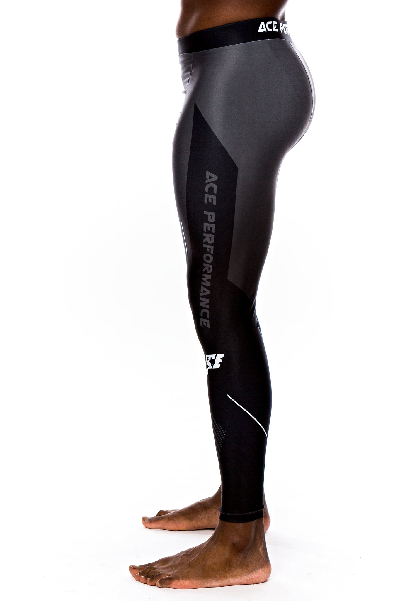ALPHA SERIES COMPRESSION PANTS - ACE BLACK - ACEPERFORMANCE