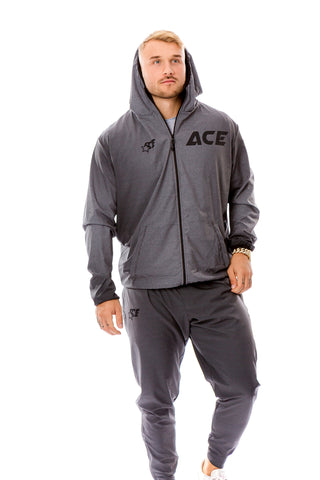 ULTRA LIGHT TRAINING SUIT - STREET GREY - ACEPERFORMANCE