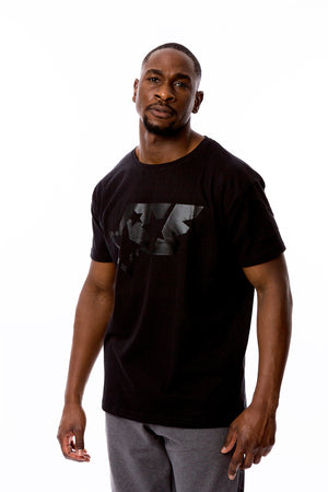 BIG LOGO SHIRT - ACE BLACK ANTHRAZIT - ACEPERFORMANCE