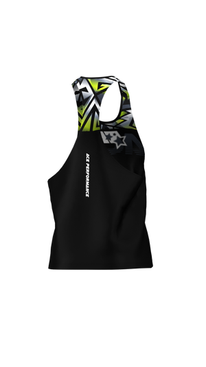 FITNESS LOOSE TANK TOP - FIREBLADE - ACEPERFORMANCE