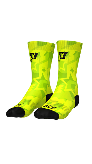 SOCKS - ACE CAMO GREEN - ACEPERFORMANCE