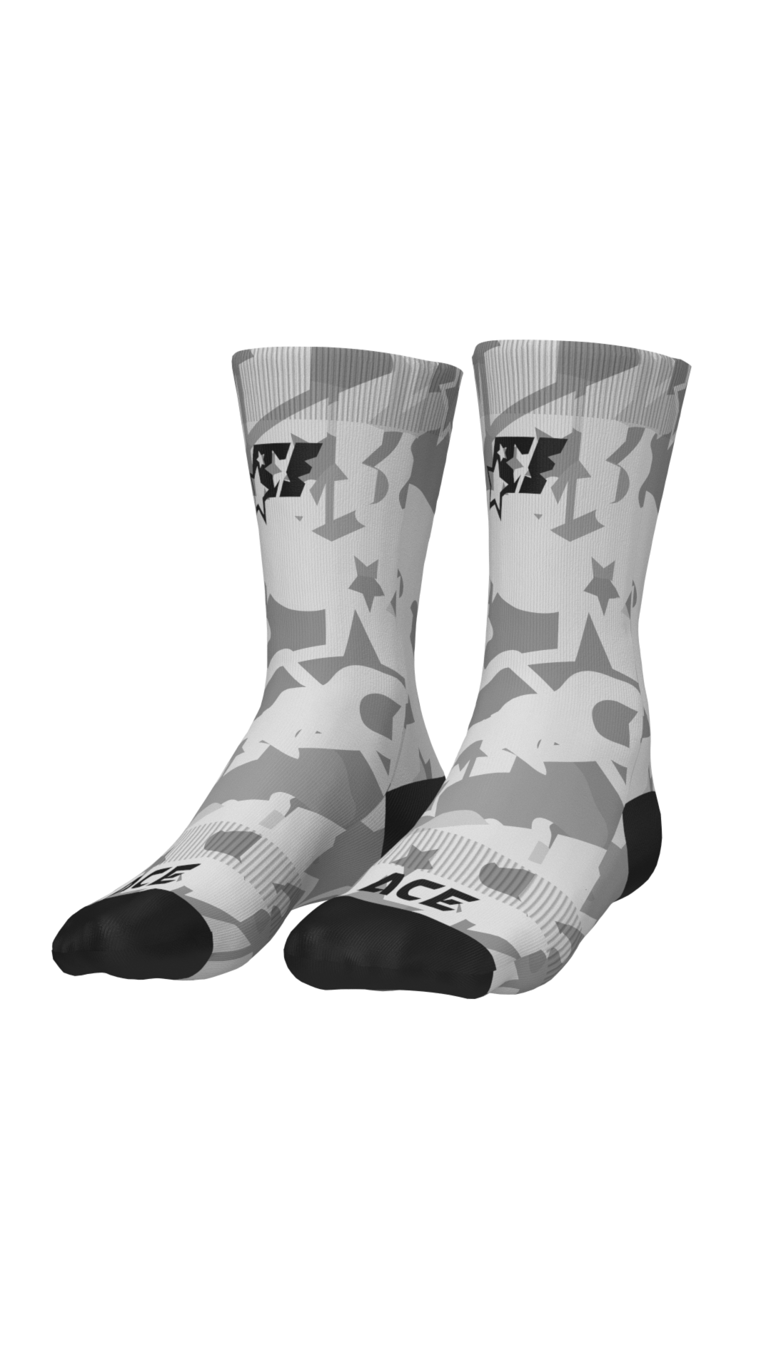 SOCKS - ACE CAMO GREY - ACEPERFORMANCE