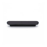 Matt Black Oval Profile Cabinet Pull - Imogen