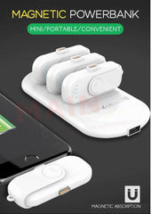 4 in 1 Magnetic Portable Power Bank